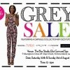 Sale Alert - The GREY Annual Sale Comes Up This Weekend