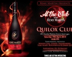 FAB Event: Wande Coal, Lynxxx & Yemi alade to perform 'At the Club' with Remy Martin this Saturday at Quilox