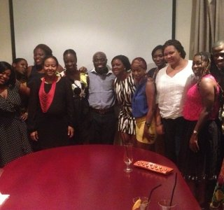 FAB Meets: Ghanaian Fashion designers meet Publisher of FAB Magazine at Villa Monticello &#8211; Accra