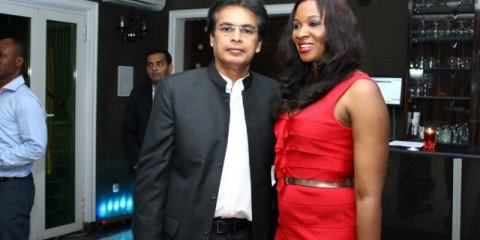 Alex Kothoor and Chioma Ude