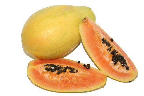 healthy fruits for skin and hair paw paw fruit