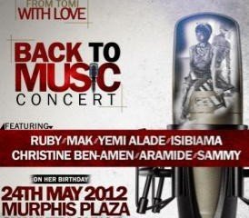 TOMI ODUNSI BACK TO MUSIC CONCERT