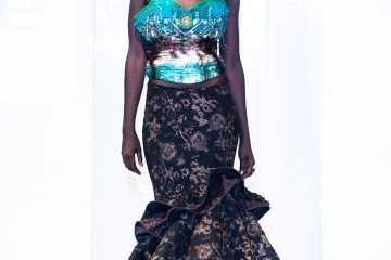 Keto Couture collection at Africa Fashion Week London 2012