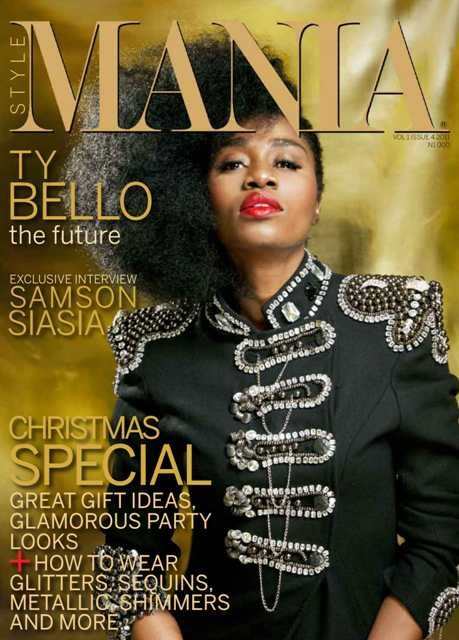 Covering Style Mania's December 2011 issue