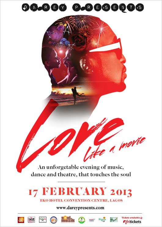 fab concert darey art alade to stage love like a movie concert for valentines day - Valentines Day Concert