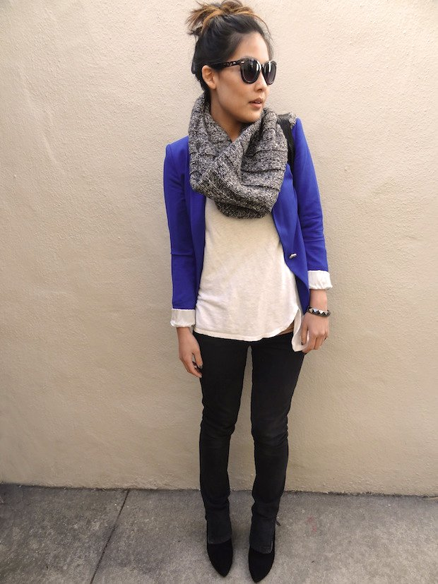 FAB Fashion My Royal Blue Blazer - FAB BLOG