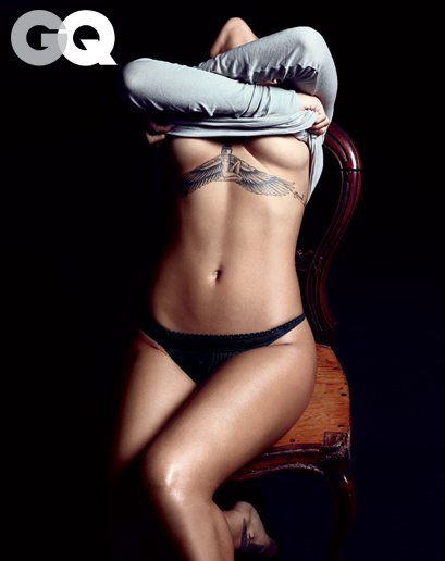 Rihanna doing grave damage for GQ magazine