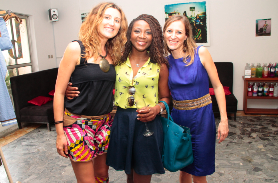 Ms Caterina, Ms Genevieve Nnaji and Ms Francesca