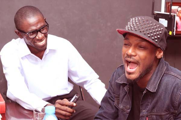 Chief Correspondent, NET Newspapers Osagie Alonge and Tuface Idibia