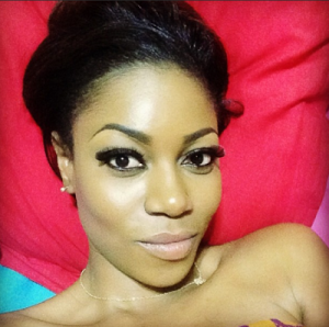 Yvonne Nelson hair & makeup