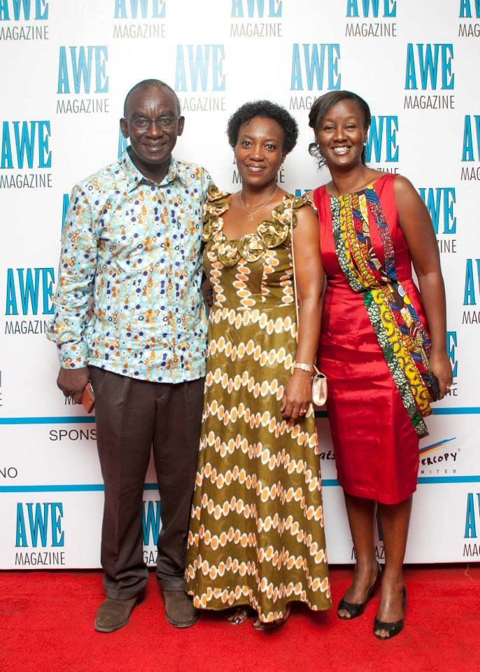 Mr&Mrs Agyare (Publisher) and Franka-Maria Andoh