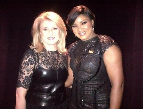 omotola-with-arianna-huffington