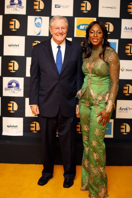 Steve Forbes and Mo Abudu
