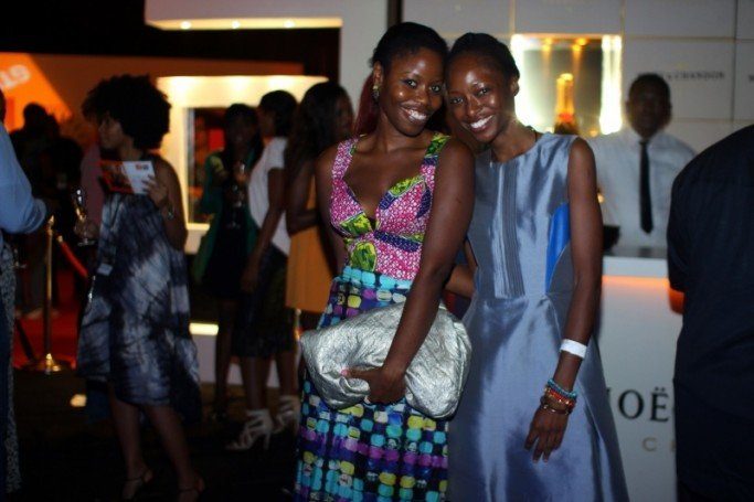 Ann Ogunsulire and Friend