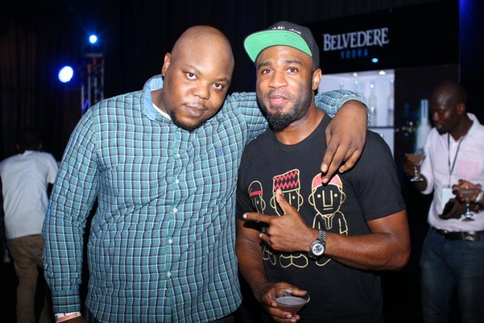 Bizzle Osikoya and Praiz