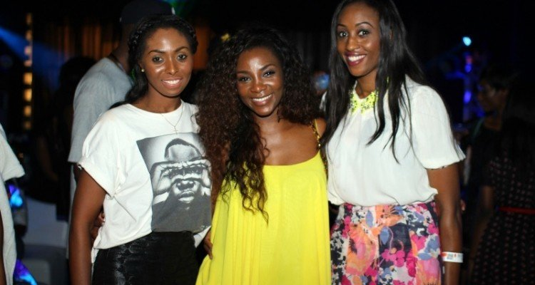 Bridget Awosika, Genevieve Nnaji and Veronica Odeka