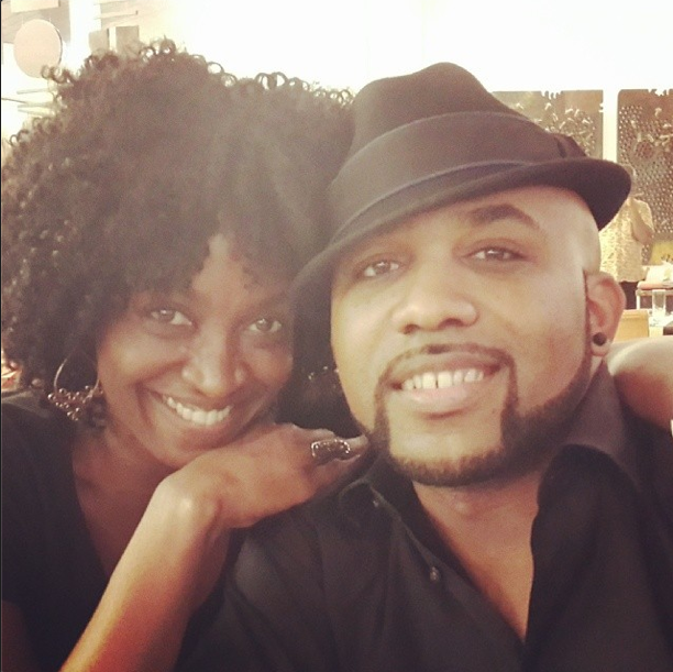 Kate Henshaw and Banky W