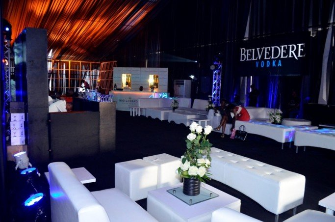Moet & Chandon and Belvedere VIP Lounge