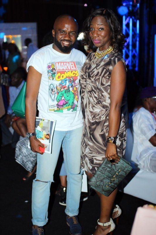 Noble Igwe and Friend