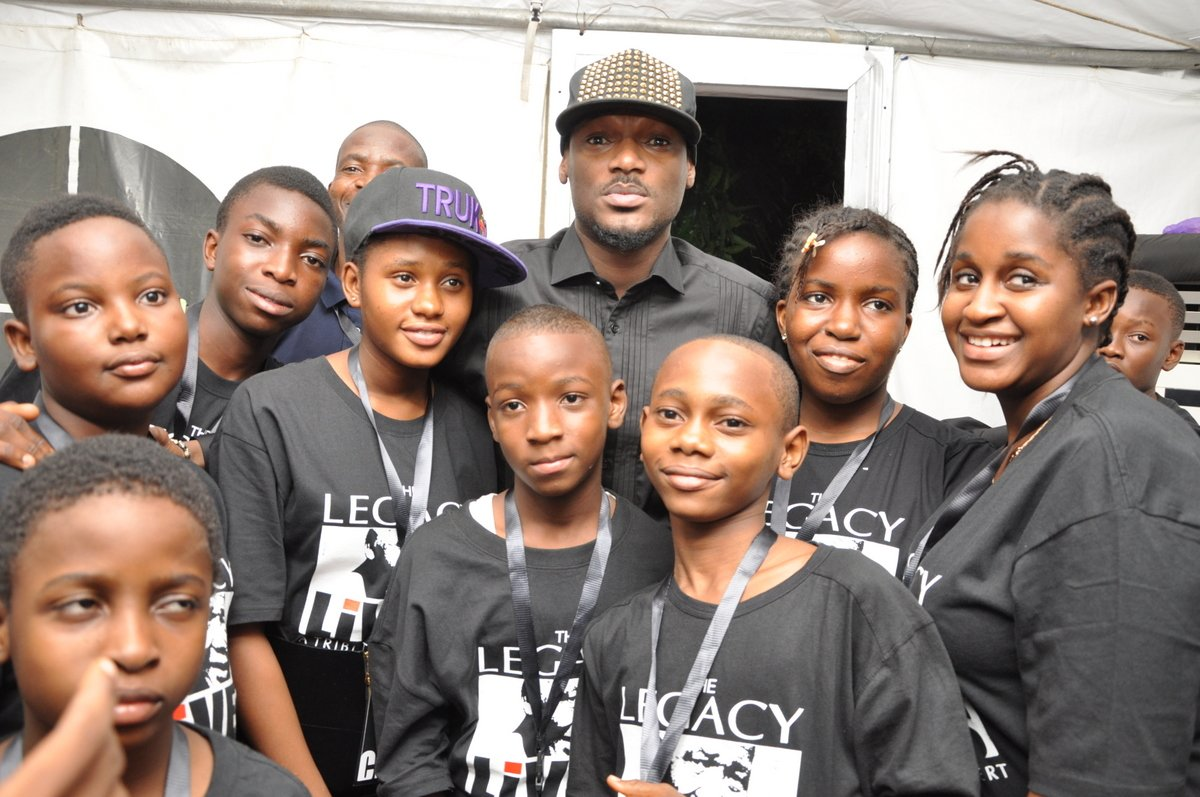 Tuface and children