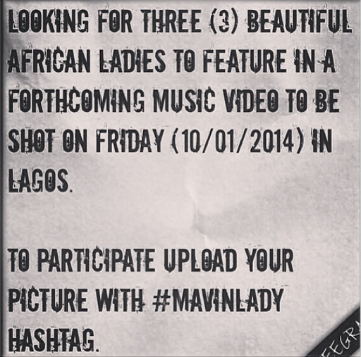 Don Jazzy Needs 3 African Ladies To Feature In A Music Video (1)