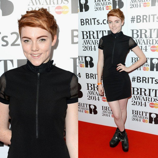 FAB Fashion Police Red Carpet Style At The Brit Awards 2014 Nomination Launch Party (5)