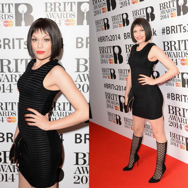 FAB Fashion Police Red Carpet Style At The Brit Awards 2014 Nomination Launch Party (7)