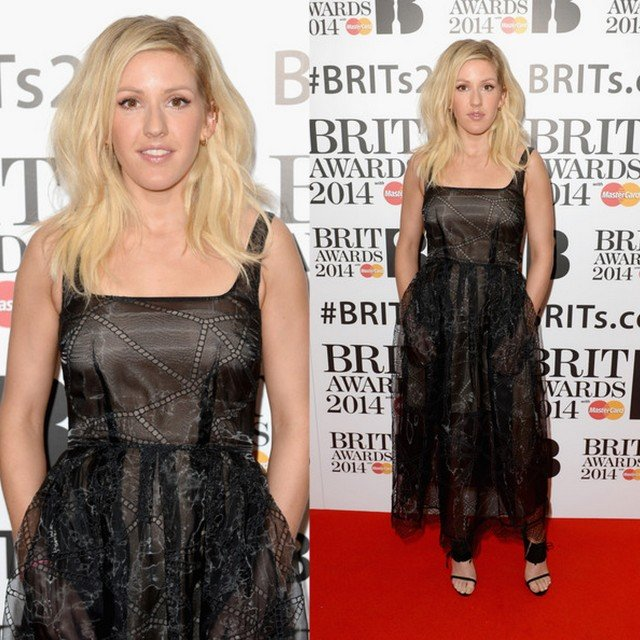 FAB Fashion Police Red Carpet Style At The Brit Awards 2014 Nomination Launch Party (9)