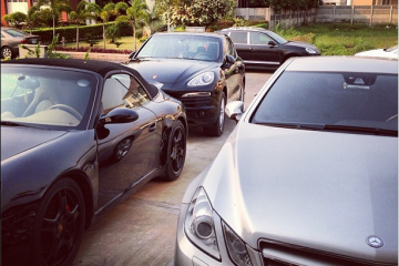 Fast Money, Fast Cars! Wizkid Shows Off A Powerful Trio Of Cars (3)