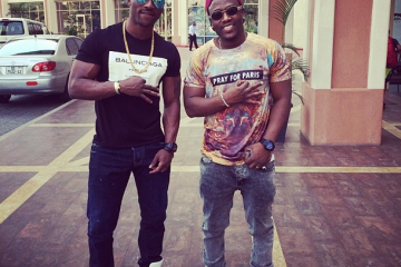 Iyanya Is Uber Cool In Coi NYC's Ballinciaga Tee, See Where To Shop The Look (2)