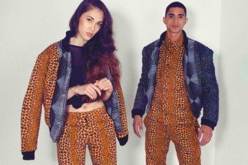 Javier & Sarah - Reversible jackets & shirt & trousers gold HR