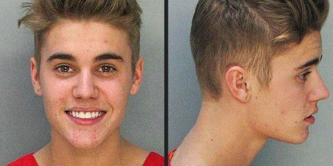 Justin Bieber court appearance footages