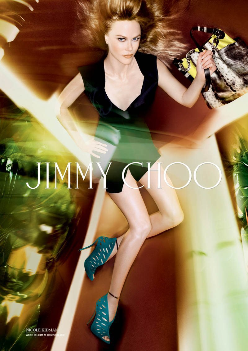 Nicole Kidman Is Sultry And Topless In Jimmy Choo's SpringSummer 2014 Campaign (1)
