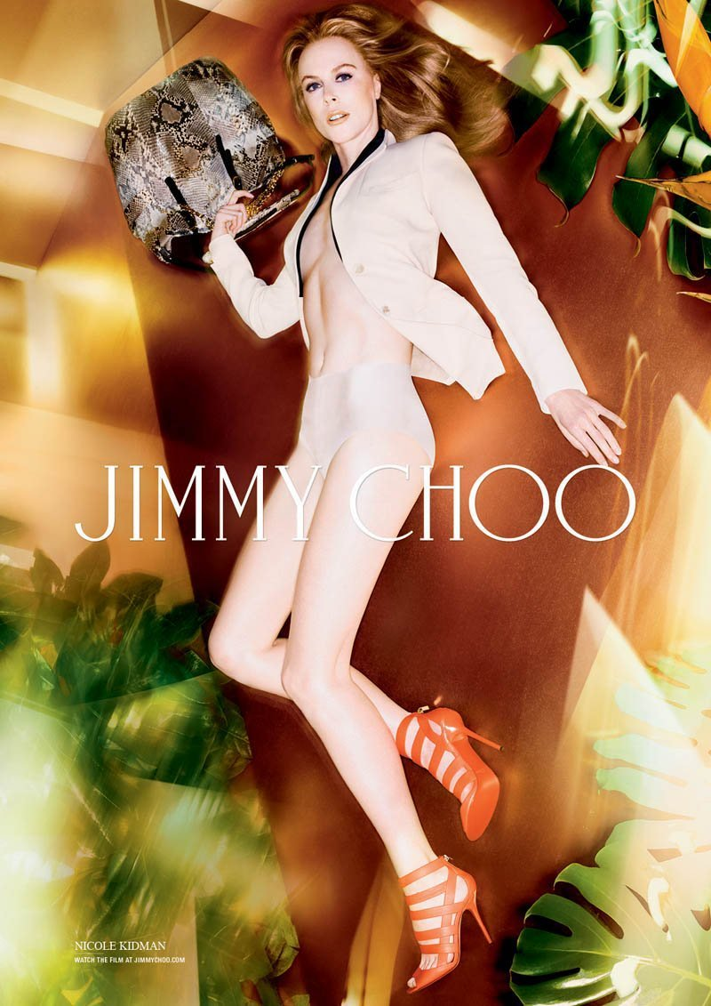 Nicole Kidman Is Sultry And Topless In Jimmy Choo's SpringSummer 2014 Campaign (2)