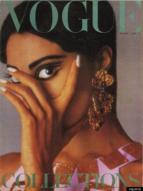 Donyale Luna For Vogue UK March 1966
