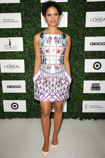 Rocsi Diaz Wearing Mary Katrantzou