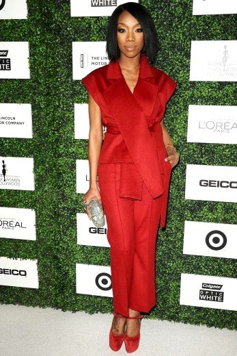 Brandy Norwood Wearing Elena Reva