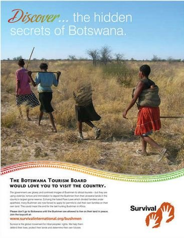 FAB Magazine-Tourists warned to stay away from Botswana in new Global ad campaign