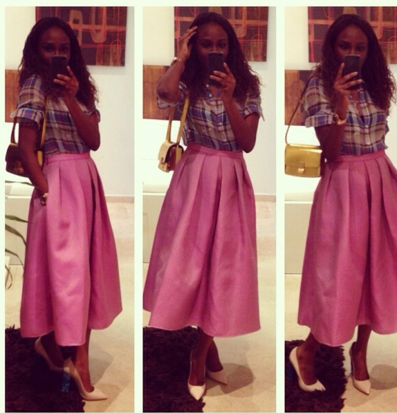 FAB Trend: The Full Midi Skirt - FAB BLOG