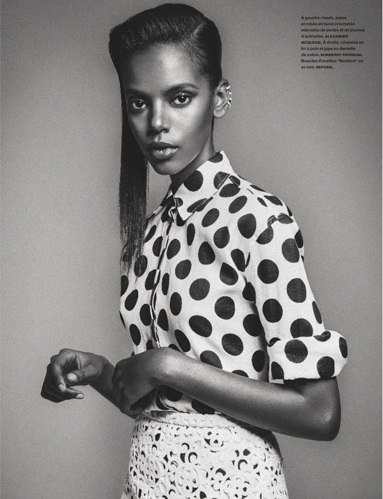 Josilyn-Williams-Riley-Montana-Senait-Gidey-Grace-Mahary-Maria-Borges-Jessica-Strother-Sherita-Dehon-Numero-March-2014-FAB-Magazine (6)