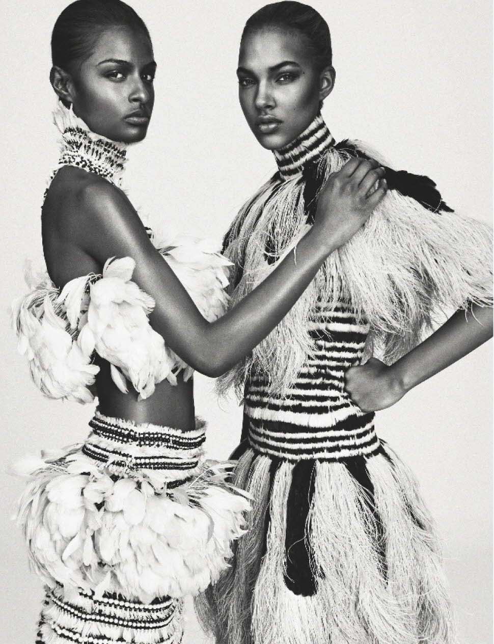 Josilyn-Williams-Riley-Montana-Senait-Gidey-Grace-Mahary-Maria-Borges-Jessica-Strother-Sherita-Dehon-Numero-March-2014-FAB-Magazine (9)
