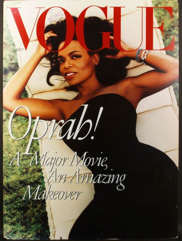 Oprah Winfrey Vogue October 1998