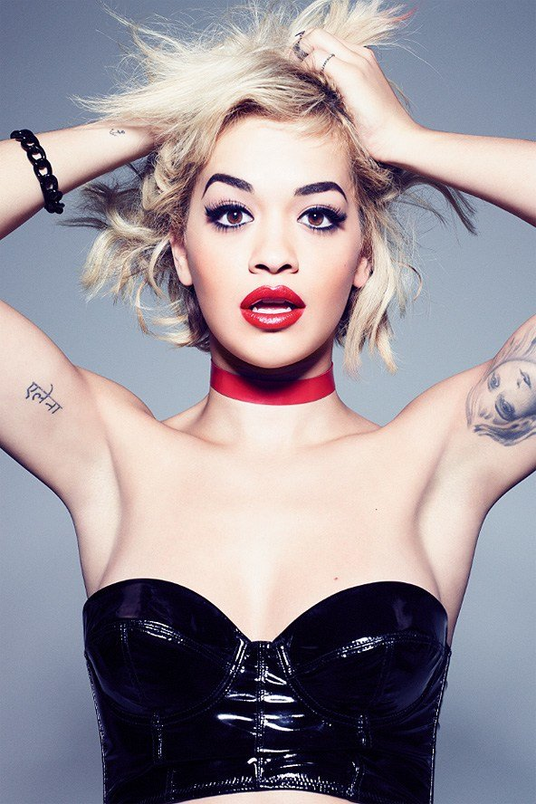 Fab Beauty First Look At Rita Ora In Her Rimmel London Campaign Photos Fab Blog