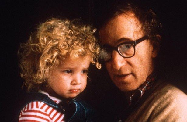 Woody Allen And A Younger Dylan Farrow