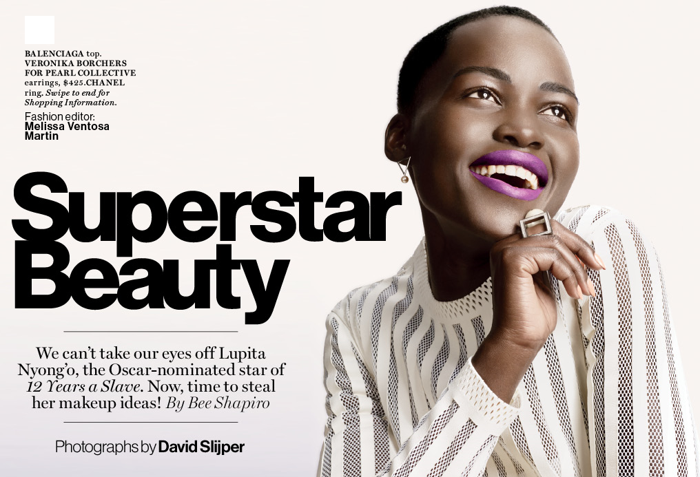FAB Editorial: Superstar Beauty! Lupita Nyong'o Featured