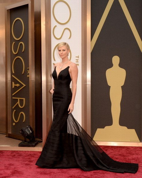 Charlize Theron Wearing Christian Dior