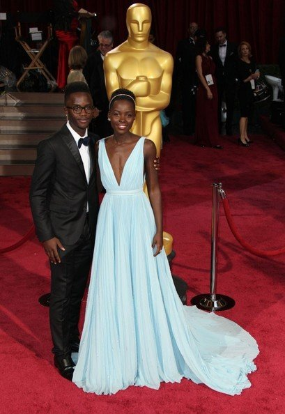 Lupita Nyong'o & Brother