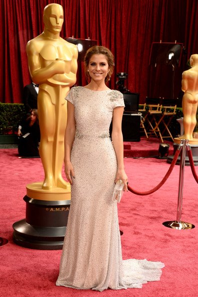 Maria Menounos Wearing Johanna Johnson