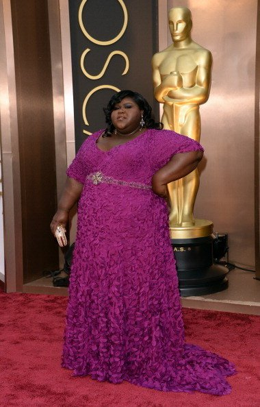 Gabourey Sidibe Wearing Theia