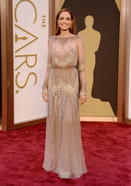 Angelina Jolie Wearing Elie Saab Couture
